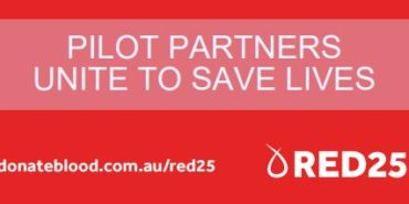 Pilot team give generously for Red25